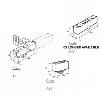 Secondary Glazing Rollers