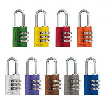Complete range of ABUS 145/20 Combination Padlocks