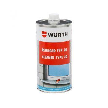 Type 20 UPVC cleaner (non-dissolving)