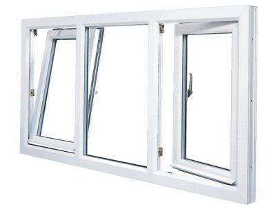 white tilt and turn windows