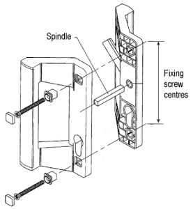 Patio handle diagram
