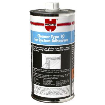 Wurth Type 10 UPVC Cleaner (Dissolving)