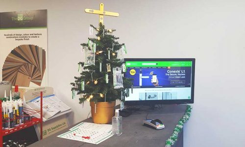 DG Counter Christmas Tree
