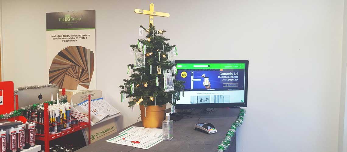 DG Counter Christmas Tree