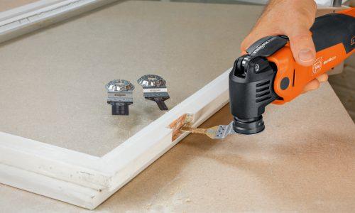 FEIN multi-tool double glazing repairs