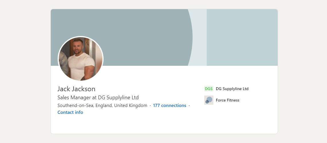 Jack Jackson LinkedIn Profile
