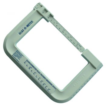 GLAS-O-METER glass thickness measuring device