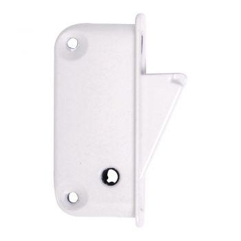 Side Fix Sash Restrictor in white finish